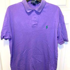 Lavender/Green Ralph Lauren Polo Shirt